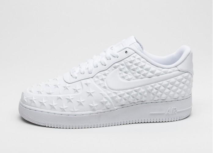 Мужские кроссовки Nike Air Force 1 LV8 VT *Star Pack* (White / White - White) | Интернет-магазин Sole