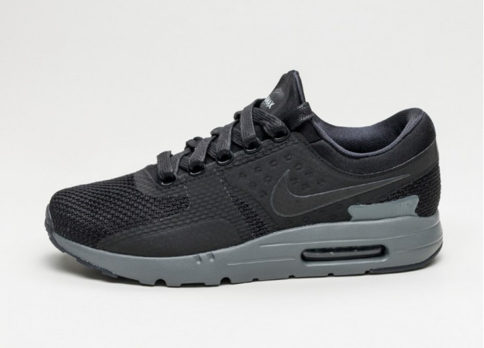 Мужские кроссовки Nike Air Max Zero QS (Black / Black - Dark Grey) | Интернет-магазин Sole