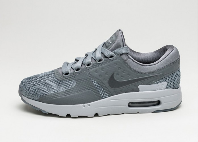 Мужские кроссовки Nike Air Max Zero QS (Cool Grey / Dark Grey - Wolf Grey) | Интернет-магазин Sole