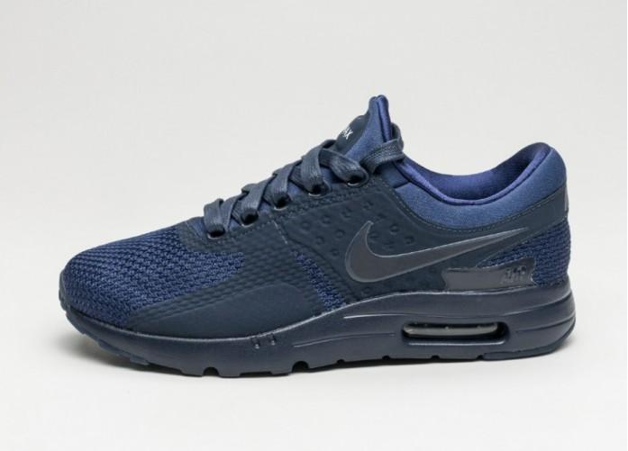 Мужские кроссовки Nike Air Max Zero QS (Binary Blue / Obsidian - Blue Fox - Cool Grey) | Интернет-магазин Sole