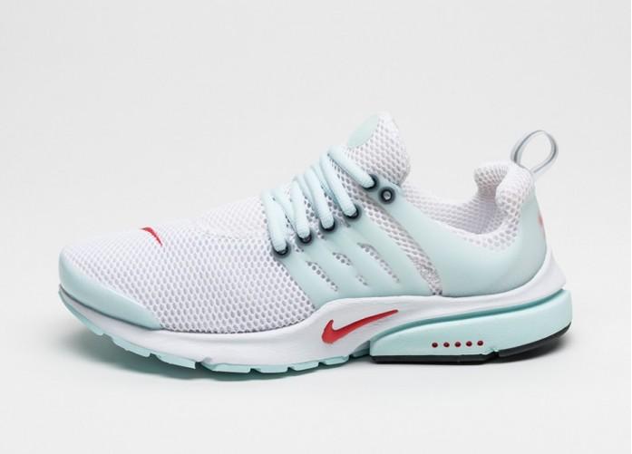Мужские кроссовки Nike Air Presto QS (White / Oriental Poppy - Skylight - Black) | Интернет-магазин Sole