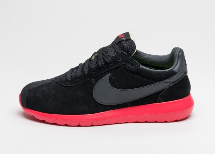 Мужские кроссовки Nike Roshe LD-1000 QS (Black / Anthracite - Siren Red - Volt) | Интернет-магазин Sole