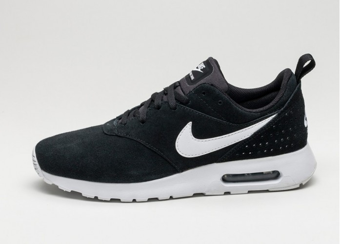 Мужские кроссовки Nike Air Max Tavas LTR (Black / White) | Интернет-магазин Sole
