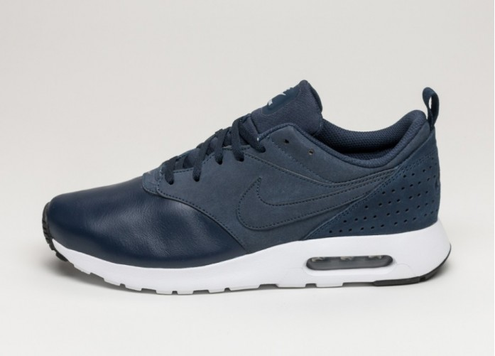 Мужские кроссовки Nike Air Max Tavas LTR (Obsidian / Wolf Grey - Black - White) | Интернет-магазин Sole
