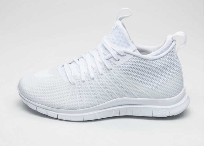 Мужские кроссовки Nike Free Hypervenom 2 FS (White / White - White) | Интернет-магазин Sole