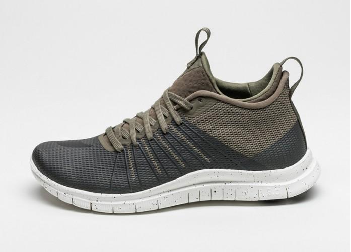 Мужские кроссовки Nike Free Hypervenom 2 FS (Medium Olive / Black - Ivory) | Интернет-магазин Sole