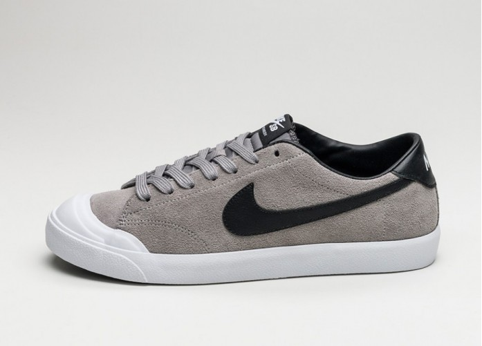 Мужские кроссовки Nike Zoom All Court CK (Dust / Black - White) | Интернет-магазин Sole