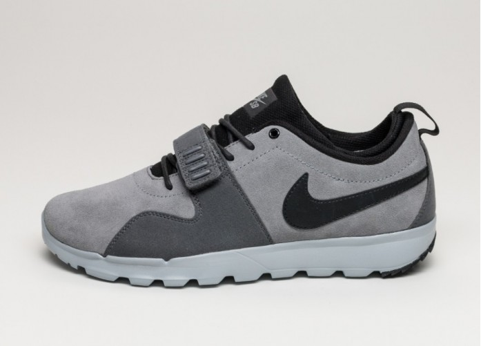 Мужские кроссовки Nike SB Trainerendor (Cool Grey / Black - Dark Grey - Wolf Grey) | Интернет-магазин Sole