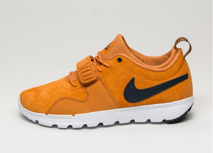 Мужские кроссовки Nike SB Trainerendor L (Sunset / Dark Obsidian - White - White) | Интернет-магазин Sole