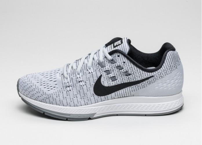 Мужские кроссовки Nike Air Zoom Structure 19 (Pure Platinum / Black - White - Cool Grey)   Интернет-магазин Sole