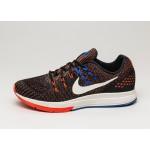Мужские кроссовки Nike Air Zoom Structure 19 (Black / Sail - Total Crimson - Racer Blue), фото 1   Интернет-магазин Sole