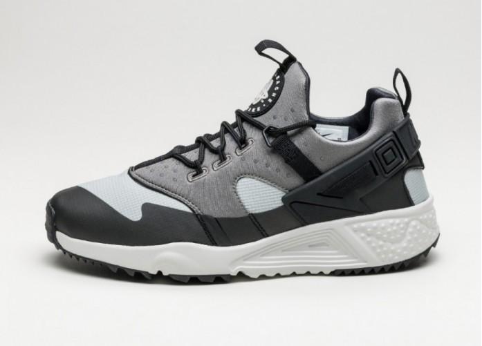 Мужские кроссовки Nike Air Huarache Utility (Base Grey / Light Ash Grey - Med Base Grey) | Интернет-магазин Sole