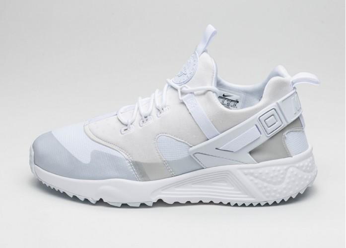 Мужские кроссовки Nike Air Huarache Utility (White / White - White) | Интернет-магазин Sole