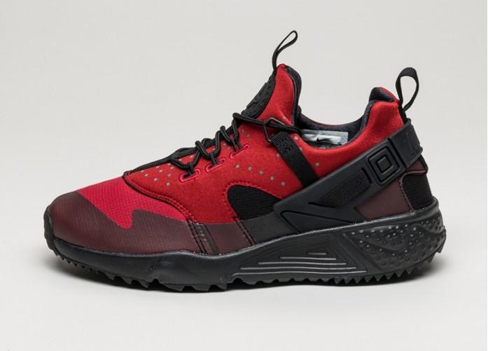 Мужские кроссовки Nike Air Huarache Utility (Gym Red / Black) | Интернет-магазин Sole