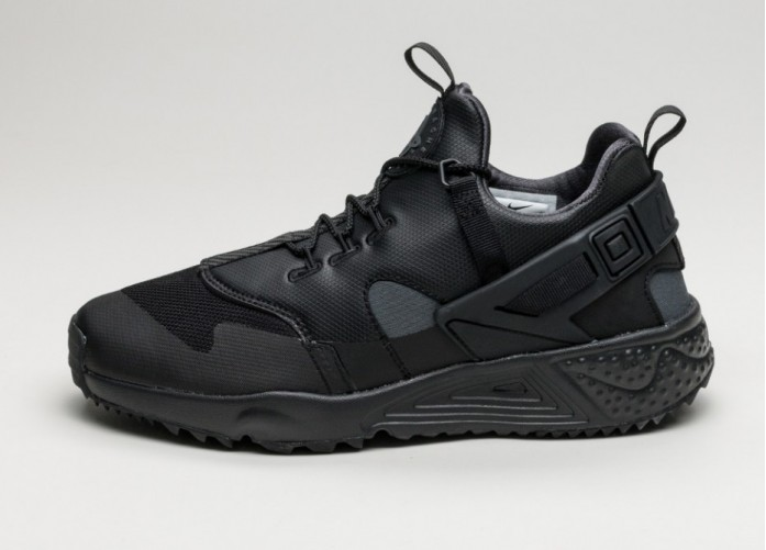 Мужские кроссовки Nike Air Huarache Utility PRM (Black / Anthracite - Anthracite) | Интернет-магазин Sole