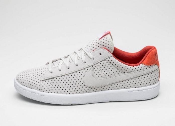 Мужские кроссовки Nike Tennis Classic Ultra QS (Light Bone / Light Bone - Bright Citrus)   Интернет-магазин Sole