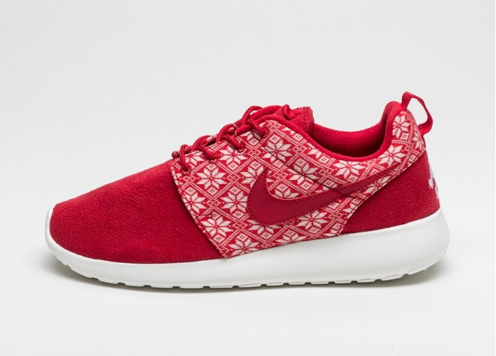 Мужские кроссовки Nike Roshe One Winter (Gym Red / Gym Red - Sail) | Интернет-магазин Sole