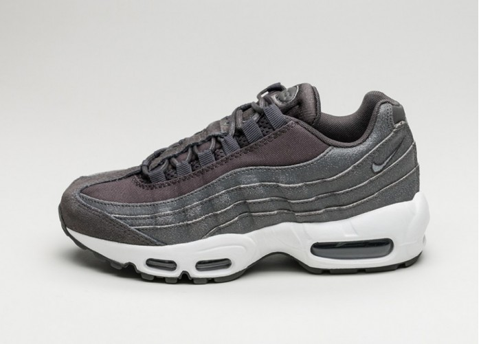 Женские кроссовки Nike Wmns Air Max 95 PRM (Midnight Fog / Midnight Fog - Matte Silver) | Интернет-магазин Sole