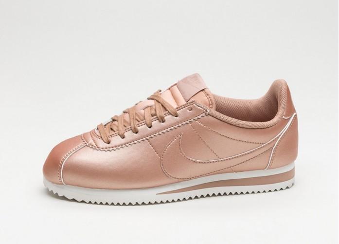 Женские кроссовки Nike Wmns Classic Cortez Leather (Metallic Red Bronze / Metallic Red Bronze) | Интернет-магазин Sole