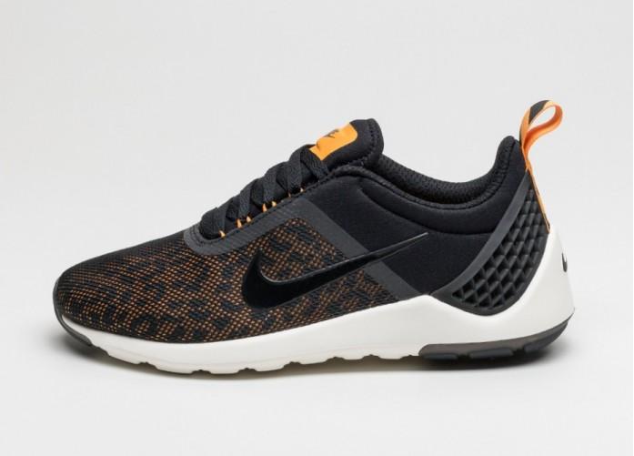 Мужские кроссовки Nike Lunarestoa 2 Premium QS (Black / Black - Kumquat - Sail) | Интернет-магазин Sole