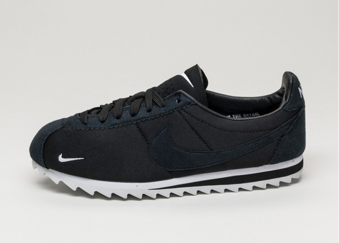 Мужские кроссовки Nike Classic Cortez Shark Low SP (Black / White - Black) | Интернет-магазин Sole