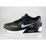 Мужские кроссовки Nike Air Max 90 Ultra BR Plus QS (Black / Wolf Grey - White - Volt), фото 1 | Интернет-магазин Sole