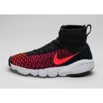 Мужские кроссовки Nike Air Footscape Magista Flyknit (Black / Bright Crimson - Gym Red - Cool Grey), фото 1 | Интернет-магазин Sole