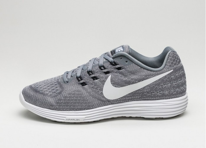 Мужские кроссовки Nike Lunartempo 2 (Cool Grey / White - Pure Platinum - Black) | Интернет-магазин Sole