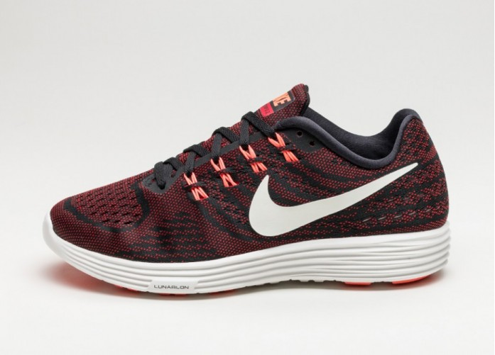 Мужские кроссовки Nike Lunartempo 2 (Black / Summit White - University Red) | Интернет-магазин Sole