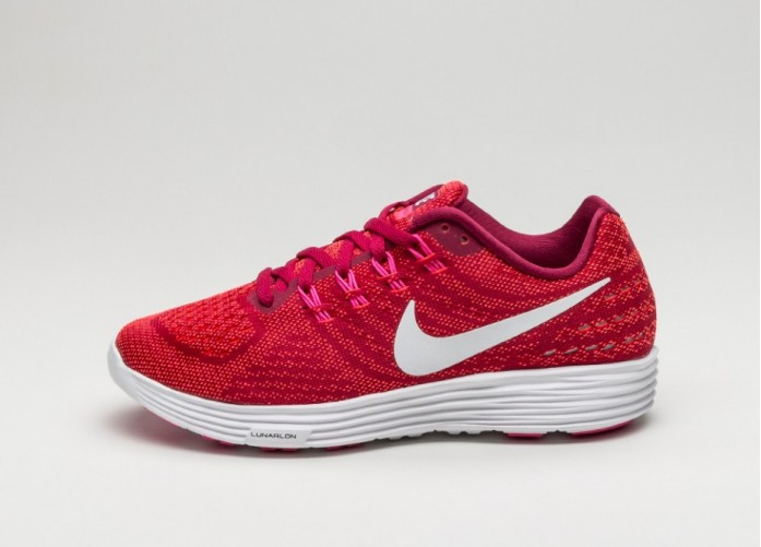 Мужские кроссовки Nike Wmns Lunartempo 2 (Noble Red / White - Bright Crimson - Pink Blast) | Интернет-магазин Sole