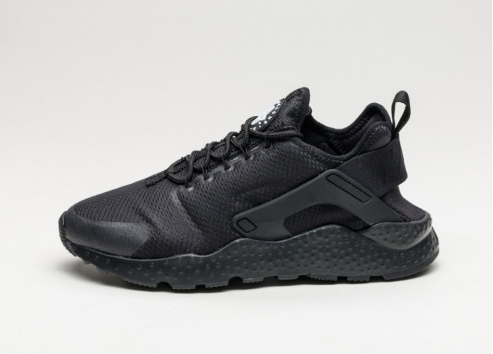 Мужские кроссовки Nike Wmns Air Huarache Run Ultra (Black / Black) | Интернет-магазин Sole