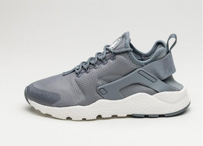 Женские кроссовки Nike Wmns Air Huarache Run Ultra (Cool Grey / Cool Grey - Summit White) | Интернет-магазин Sole