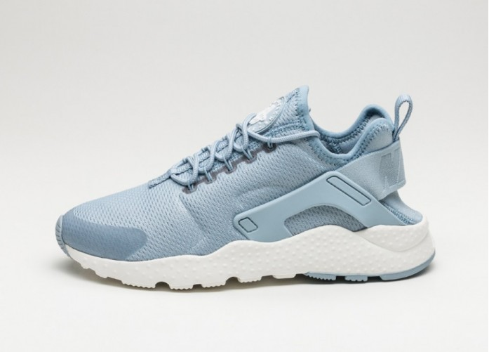 Мужские кроссовки Nike Wmns Air Huarache Run Ultra (Blue Grey / Blue Grey - Summit White) | Интернет-магазин Sole
