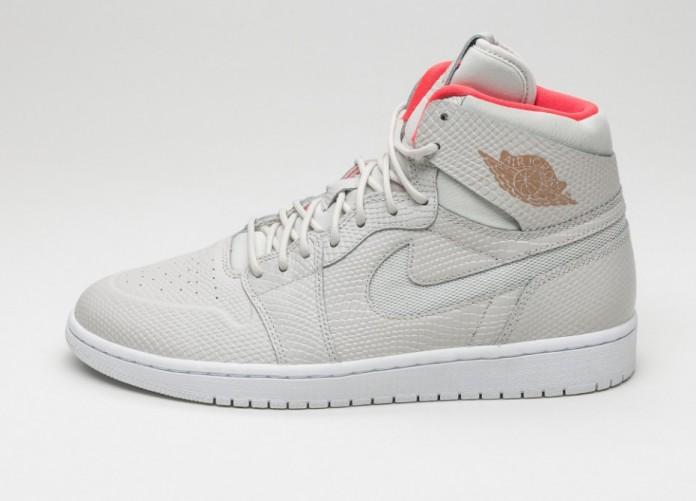Мужские кроссовки Nike Air Jordan 1 Retro High Nouv (Light Bone / Metallic Copper Coin - White - Infrared) | Интернет-магазин Sole