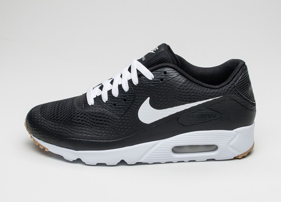 b5f18549 Мужские кроссовки Nike Air Max 90 Ultra Essential (Black / White - Black)
