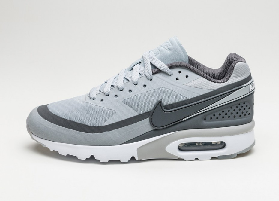 nike AIR MAX BW ULTRA WOLF GREYDARK GREY WHITE bij