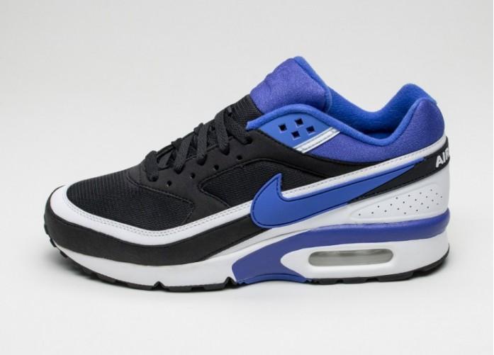Мужские кроссовки Nike Air Max BW OG (Black / Persian Violet - White) | Интернет-магазин Sole