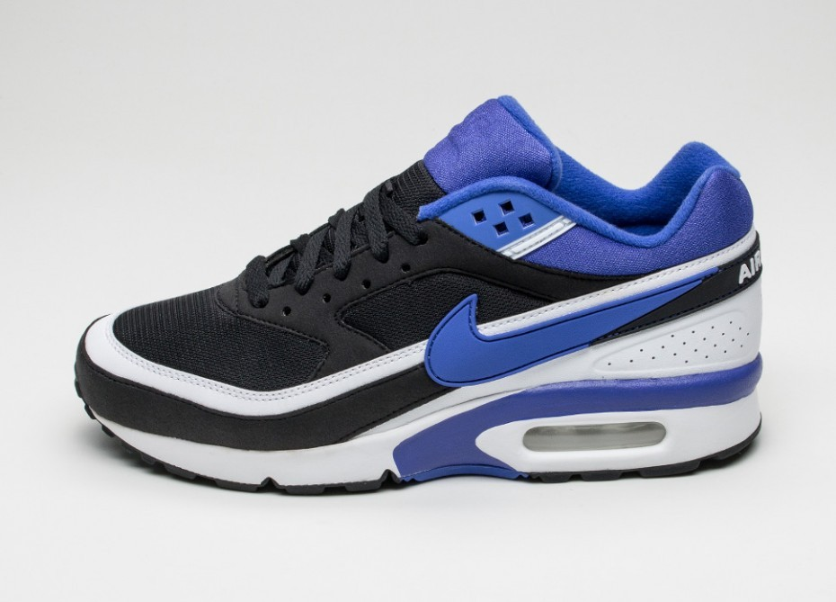 44a690b0 Мужские кроссовки Nike Air Max BW OG (Black / Persian Violet - White ...