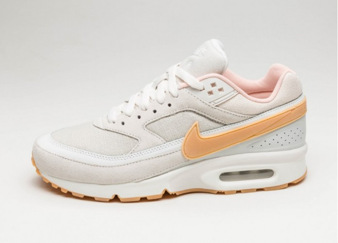 Мужские кроссовки Nike Air Max BW Premium (Phantom / Gum Yellow - Light Bone) | Интернет-магазин Sole