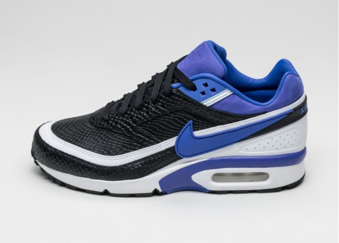 Мужские кроссовки Nike Air Max BW Premium (Black / Persian Violet - White) | Интернет-магазин Sole