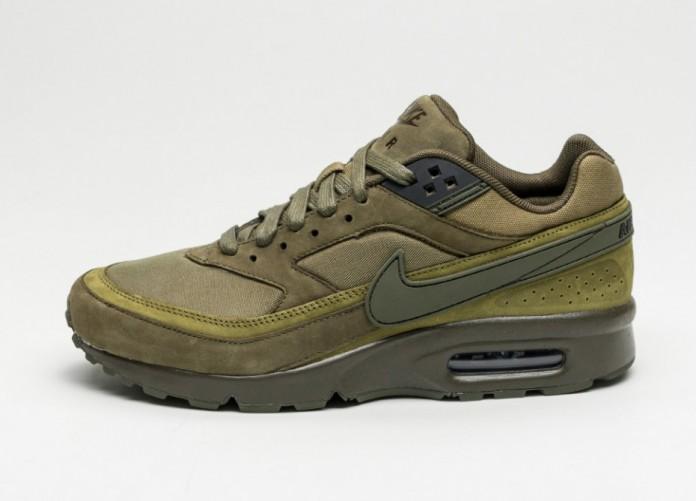 Мужские кроссовки Nike Air Max BW Premium (Dark Loden / Dark Loden - Oliv Flak) | Интернет-магазин Sole