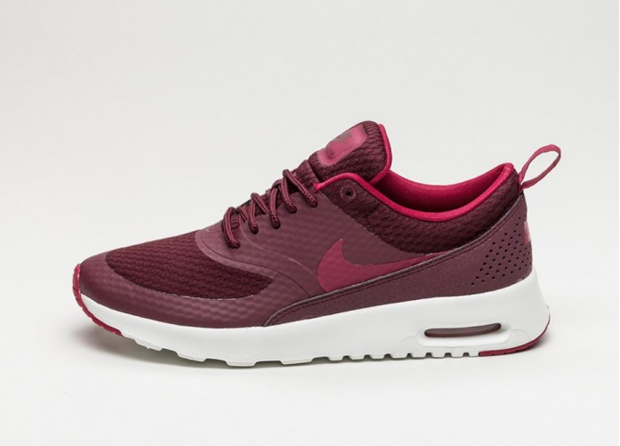 Мужские кроссовки Nike Wmns Air Max Thea Txt (Night Maroon / Noble Red - Summit White) | Интернет-магазин Sole