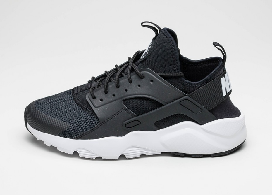 64efd869 Мужские кроссовки Nike Air Huarache Run Ultra (Black / White - Anthracite -  White)