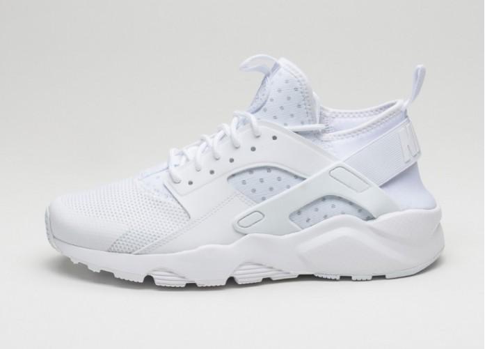 Мужские кроссовки Nike Air Huarache Run Ultra (White / White - White) | Интернет-магазин Sole