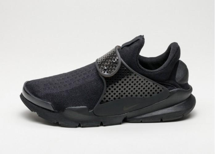 Мужские кроссовки Nike Sock Dart KJCRD (Black / Black - Volt) | Интернет-магазин Sole