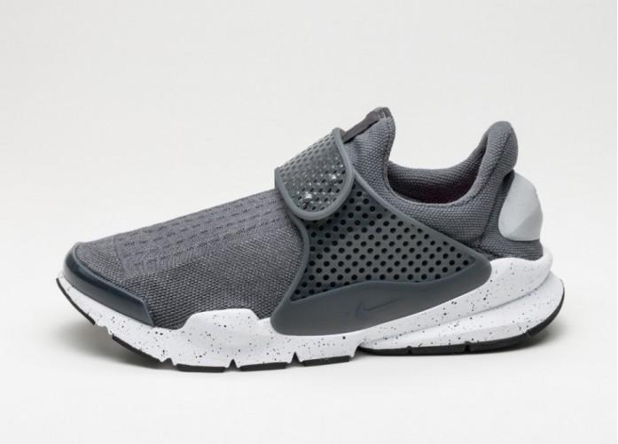 Мужские кроссовки Nike Sock Dart KJCRD (Wolf Grey / Wolf Grey - White - Pink Blast) | Интернет-магазин Sole