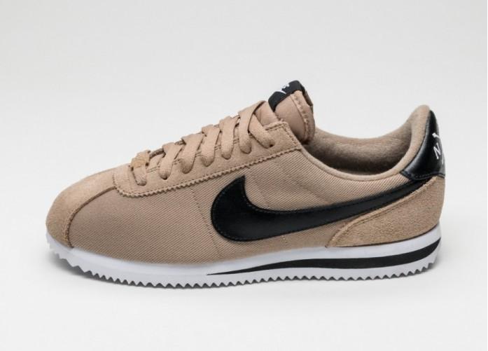 Мужские кроссовки Nike Classic Cortez Basic Premium QS (Desert Camo / Black - White) | Интернет-магазин Sole