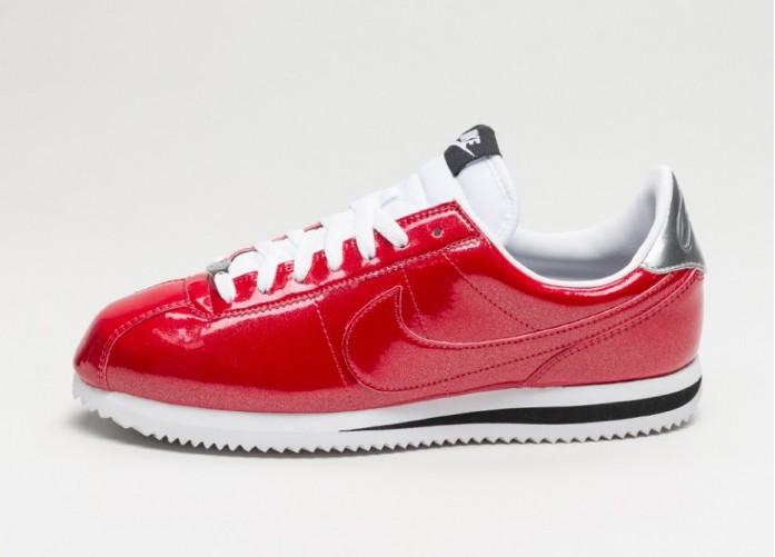 Мужские кроссовки Nike Classic Cortez Basic Premium QS (Gym Red / Gym Red - White - Metallic Silver) | Интернет-магазин Sole