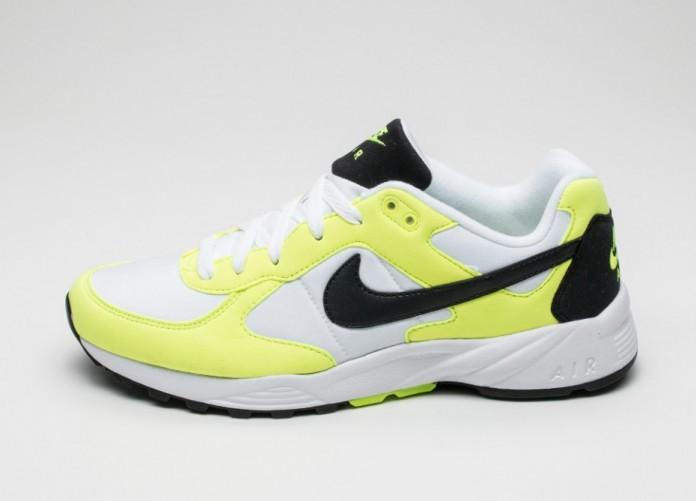 Мужские кроссовки Nike Air Icarus NSW (White / Black - Black - Volt) | Интернет-магазин Sole