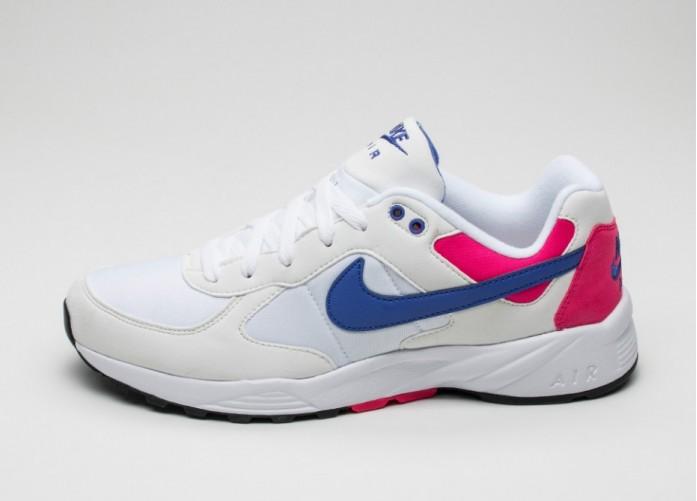Мужские кроссовки Nike Air Icarus NSW (White / Lapis - Cherry - Black) | Интернет-магазин Sole